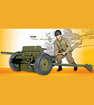 M3 37mm Anti-Tank Gun w/Gunner<BR>9th Anniversary Set<BR>