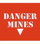 Sign: Danger - Mines