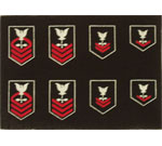 US Navy Rank Insignia (Set of 4)