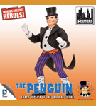 Retro Penguin Figure (1:9)<BR>