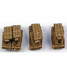Double Pistol Mag Pouch & Single Pistol Mag Pouch (2)<BR>