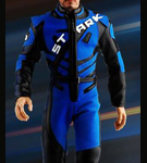 Racing Suit with Male Body