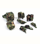Woodland Camo Pouch Assortment