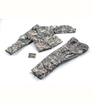 ACU Camo Shirt & Pants with Patch Set