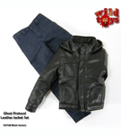 Ghost Protocol Leather Jacket Set <BR>(Black)<BR>