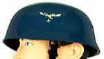 Helmet: German-Paratrooper Blue w/Decals