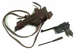 German Mauser Machine Pistol with Removable Mags<BR>