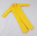 Button Front Jumpsuit (Yellow)