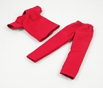 Medical Scrubs (Female/Burgandy-Red)