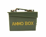 OD Green Ammo Box with Stenciling