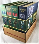 GI Joe Masterpiece Ed Set of 4 African American Figures with Retailer's lower display box