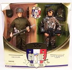 35th Anniversary: Then & Now 2 Figure Set w/35th Anniversary Patch