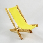 Folding Chair  (Yellow)