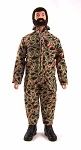 Pocketed Jumpsuit - Duck Hunter Camo