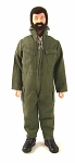 Pocketed Jumpsuit - OD Green