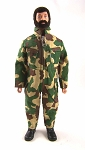 Pocketed Jumpsuit - Para Camo