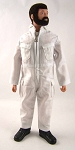Pocketed Jumpsuit - White