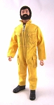 Pocketed Jumpsuit - Yellow