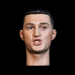 Asian Male Head Sculpt (Shouting)<BR>PRE-ORDER: ETA Q1 2020