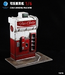 Cola Vending Machine (1:6 Scale)<BR>PRE-ORDER: ETA Q2 2021