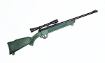 Rifle with Scope (OD Green/Black)