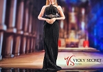 Cocktail Dress Set (Black)<BR>PRE-ORDER: ETA Q3 2020