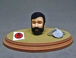 Mexico Joe Head Sculpt Set (Black Beard)