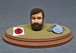 Mexico Joe Head Sculpt Set (Brunette Beard)