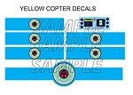 Cybernetic Explorer Helicopter Decal Set<BR>