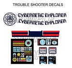 Cybernetic Explorer Troubleshooter Decal Set<BR>