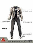 Silver Leather Jacket Set B<BR>PRE-ORDER: ETA Q1 2018