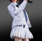 Battle Girl's Uniform Set (White)<BR>PRE-ORDER: ETA Q1 2019<BR>WAIT LIST