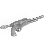 Space Pirate Hand Gun Silver