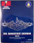 USS Connecticut Crewman, Seawolf Commemorative, Caucasian