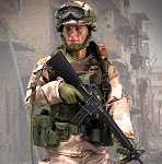 Chalk Leader, 75th Ranger (1993 Mogadishu)<BR>(1:12 Scale)<BR>PRE-ORDER: ETA Q1 2019