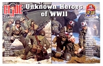 2004 GI Joe Con Exclusive: Unknown Heroes of WWII