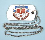 1995 GI Joe Convention Dealers Dog Tag