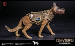 K-9 Dog with Tactical Canine Gear