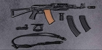 AK-74M Assault Rifle Set (Black)