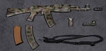 AK-74M Assault Rifle Set (Camo)