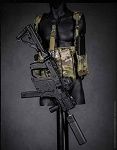 Vector SMG Tactical Set (Black)<BR>PRE-ORDER: ETA Q2 2018