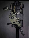 Vector SMG Tactical Set (Green)<BR>PRE-ORDER: ETA Q2 2018
