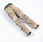 Tan Crye-StyleTactical Pants w/Belt (Female Cut)