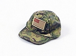 Ballcap with US Patch (Female Fit)