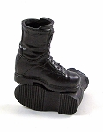 Black Tactical Boots<BR>