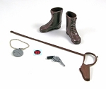 Explorer Gear Set<BR> (Tall Brown Boots)<BR>