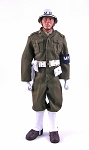 U.S. Army MP, WWII Uniform Set<br>