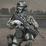 British Specialist Firearms Command SCO19 Sniper