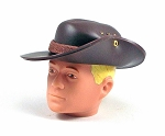 Australian Bush Hat <br>Dark Brown
