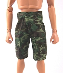 Shorts: ERDL Camo with Cargo Pockets